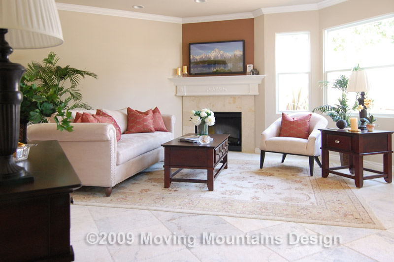 Home Staging A Pasadena Townhome