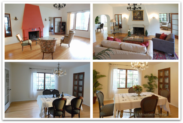 Los Angeles County Home Staging Staging An Altadena