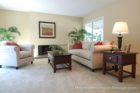 Pasadena home staging 5 7 moving mountains design for The family room pasadena