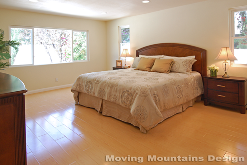 Arcadia home staging Master Bedroom