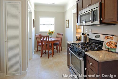 Pasadena home staging kitchen after staging