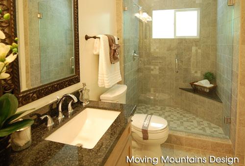 Sierra Madre Master Bath Shower After Staging/Remodel