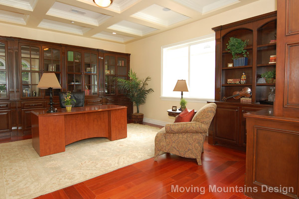 Arcadia formal office after home staging