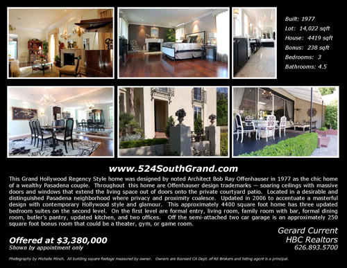 542 South Grand Avenue brochure page 2