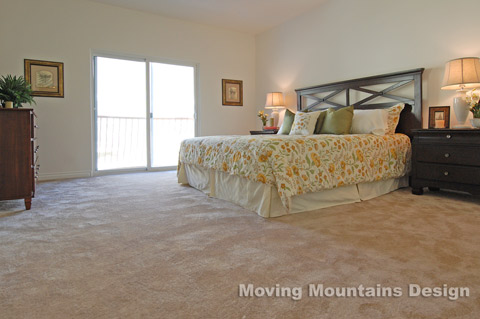 Condo Master Bedroom After Home Staging