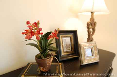 Los Angeles home staging photographs from Moving Mountains Design