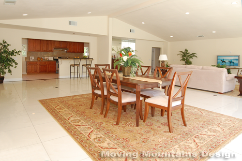 Arcadia Dining Room After Home Staging