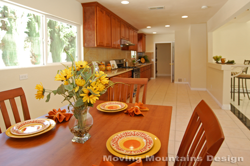 Eat-in Kitchen After Home Staging