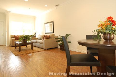 Glendale Model Home Condo After Home Staging