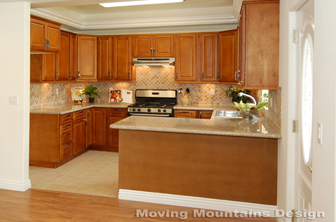 Glendale Model Home Staging Kitchen After
