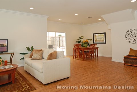 Glendale Model Home Staging After