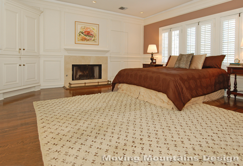 Los Angeles Home Staging Hancock Park Luxury Master Bedroom