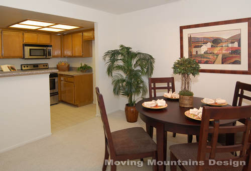 Pasadena home staging an affordable condo by Michelle Minch