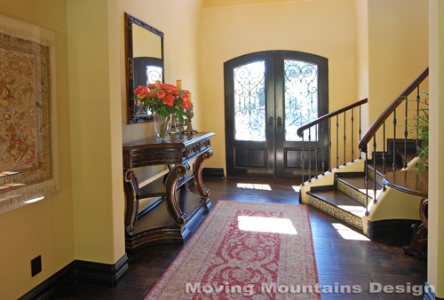 Los angeles home staging company stages a m luxury home in