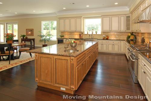 Pasadena Luxury home staging kitchen