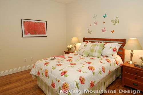 Los Angeles home staging Valley Village home stager childs bedroom