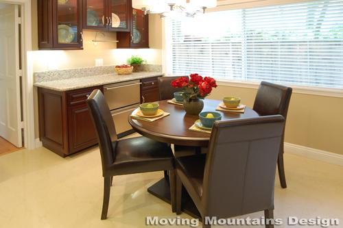 San Marino home staging kitchen