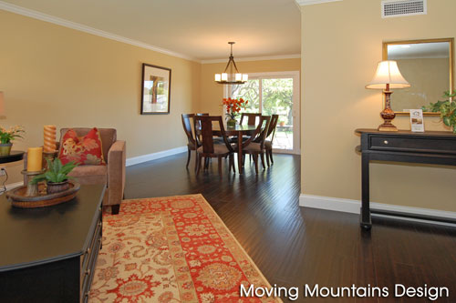 Home Stagers Los Angeles Chatsworth Dining Room after home staging