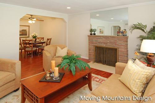 Temple City Home After Staging by Los Angeles home stagers