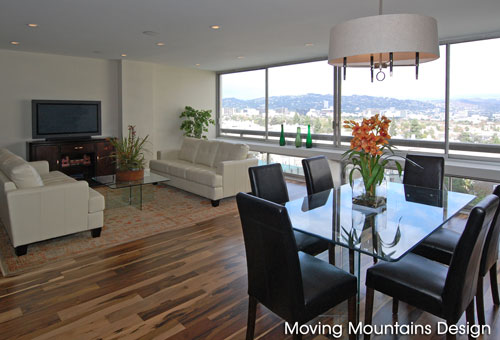 Los Angeles Real Estate Staging Century City Condo Staging