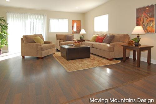 Granada Hills Home Staging Living Room after