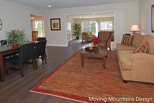 Granada Hills Home Staging Living Room