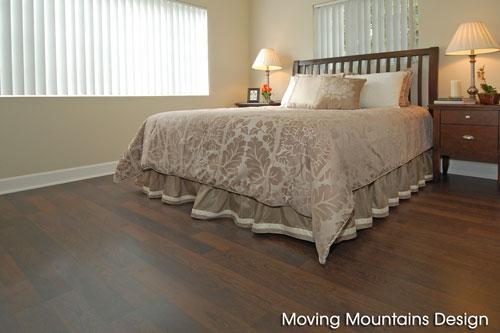 Granada Hills Home Staging Master Bedroom