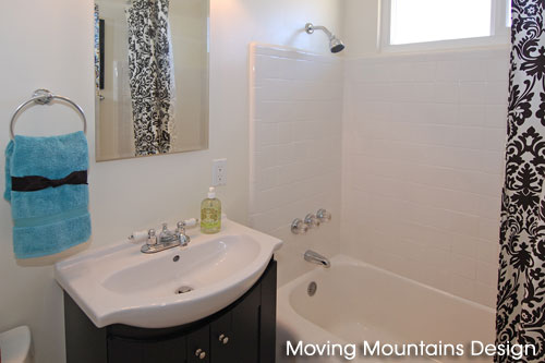 Bathroom after remodel & home staging
