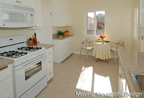 Monterey Park kitchen after home staging