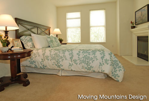Condo Home Staging in Pasadena by Moving Mountains Design