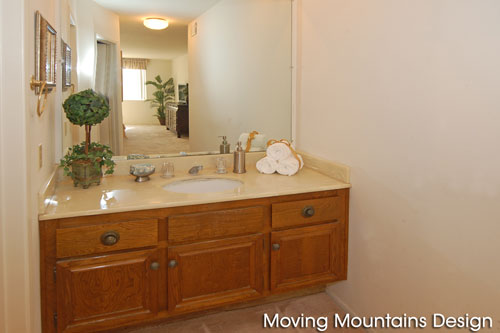 Bel Air Condo Master Bath After Home Staging