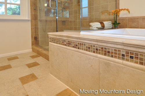 Photo of tile Detail in La Cresenta home staging